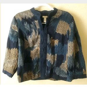 Chico's Women's Cotton Blazer